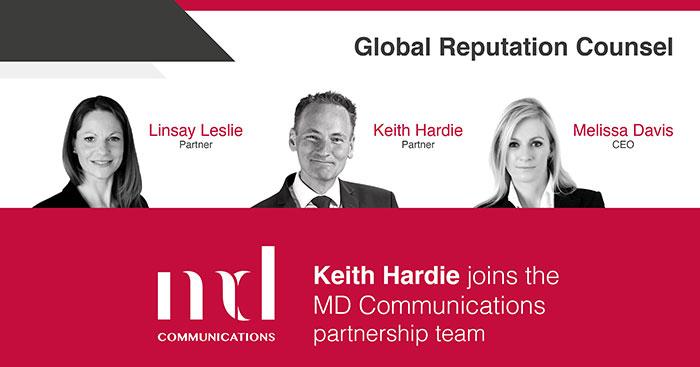 Keith Hardie joins partnership team